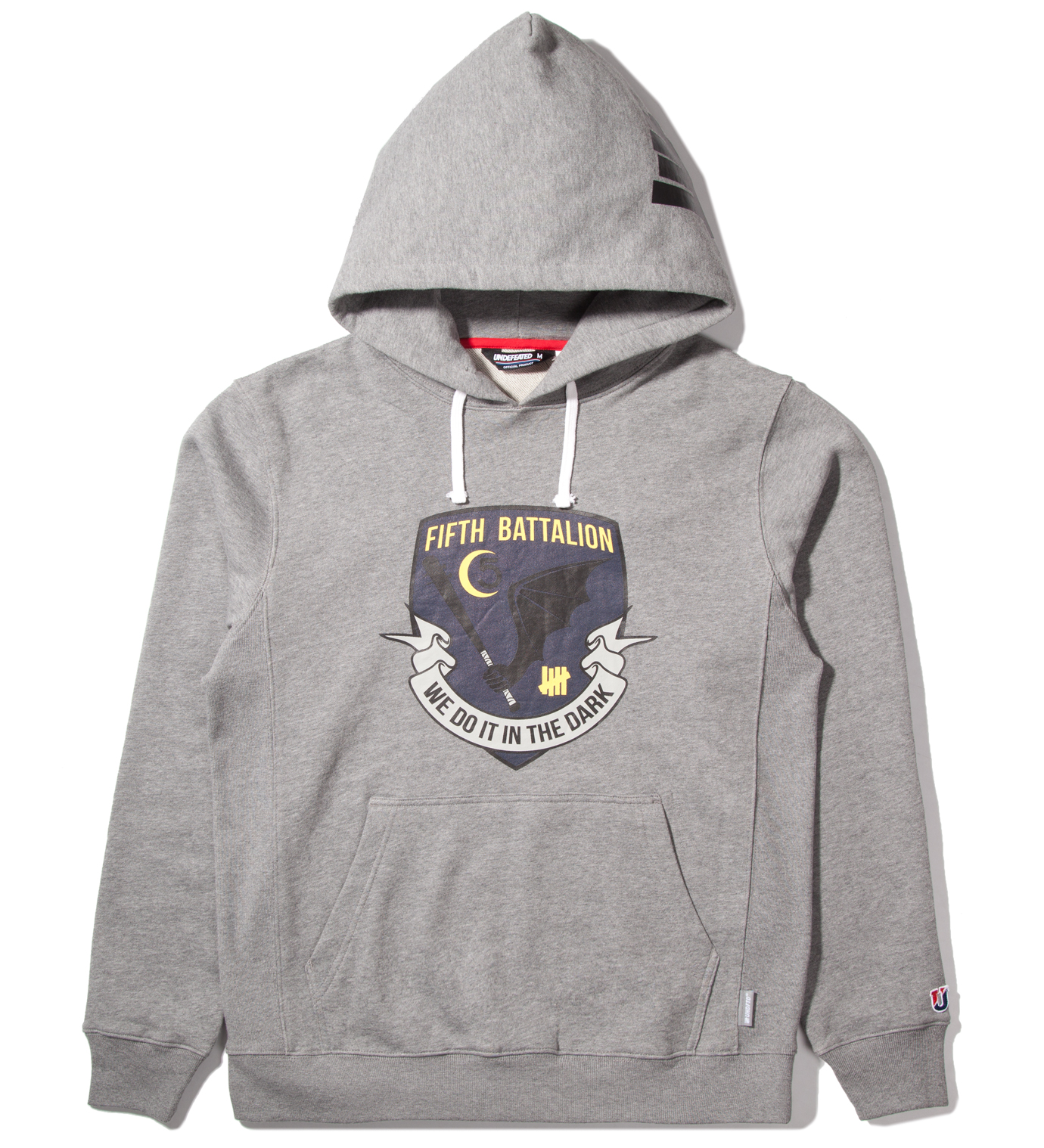 UNDEFEATED Heather Grey Battalion Pullover