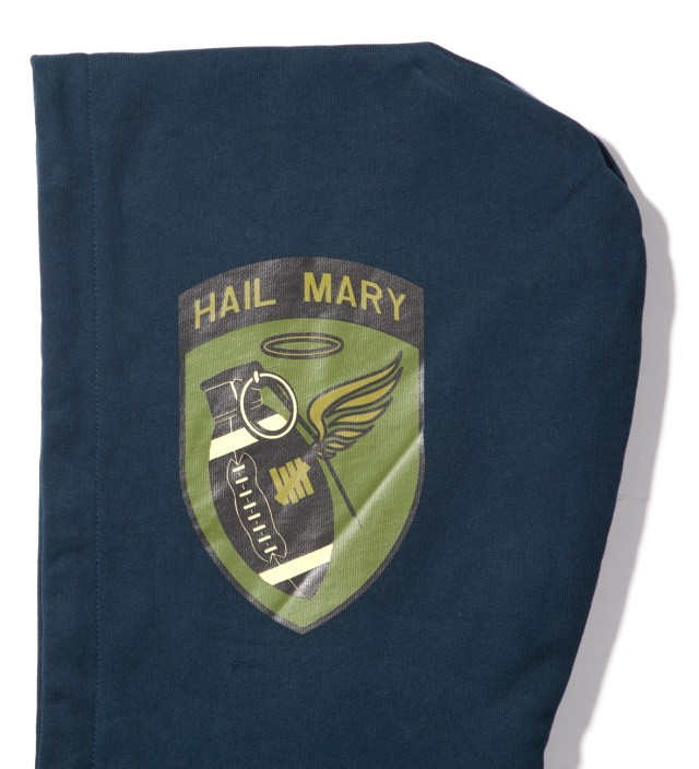 Undefeated Navy Hail Mary Zip Hoodie