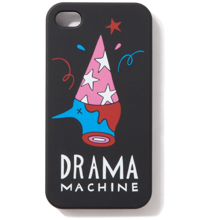 Parra Black The Drama Machine iPhone 4/4S Cases