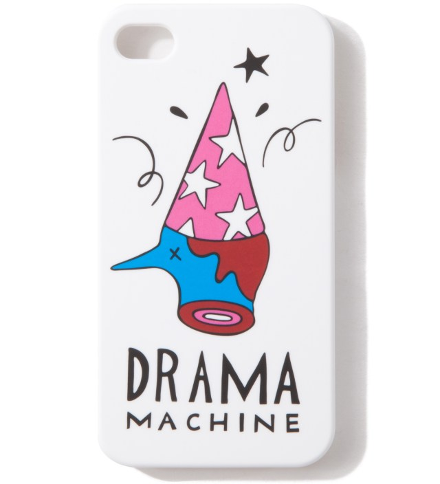 Parra White The Drama Machine iPhone 4/4S Cases