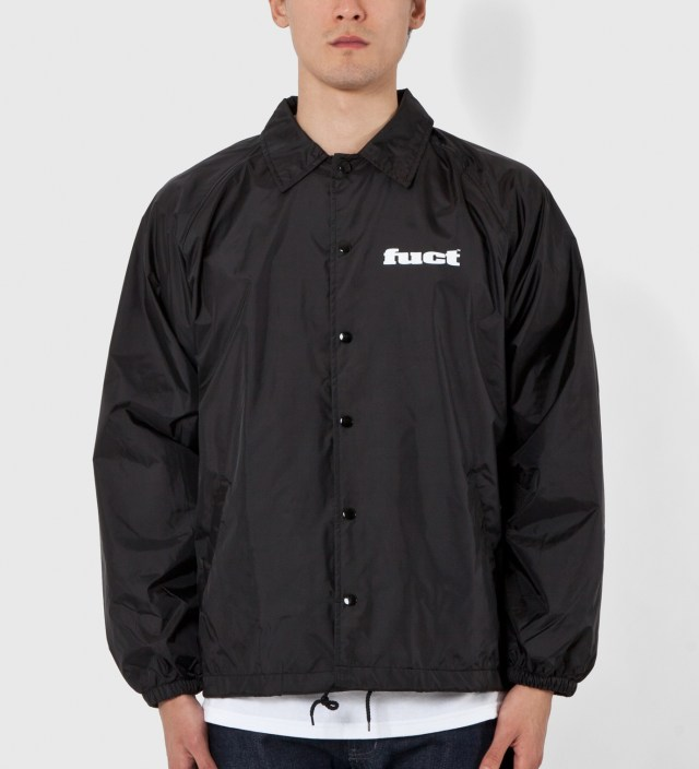 FUCT Black OG Coaches Jacket