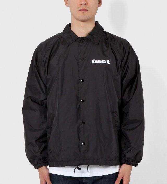 FUCT Black OG Coaches Jacket