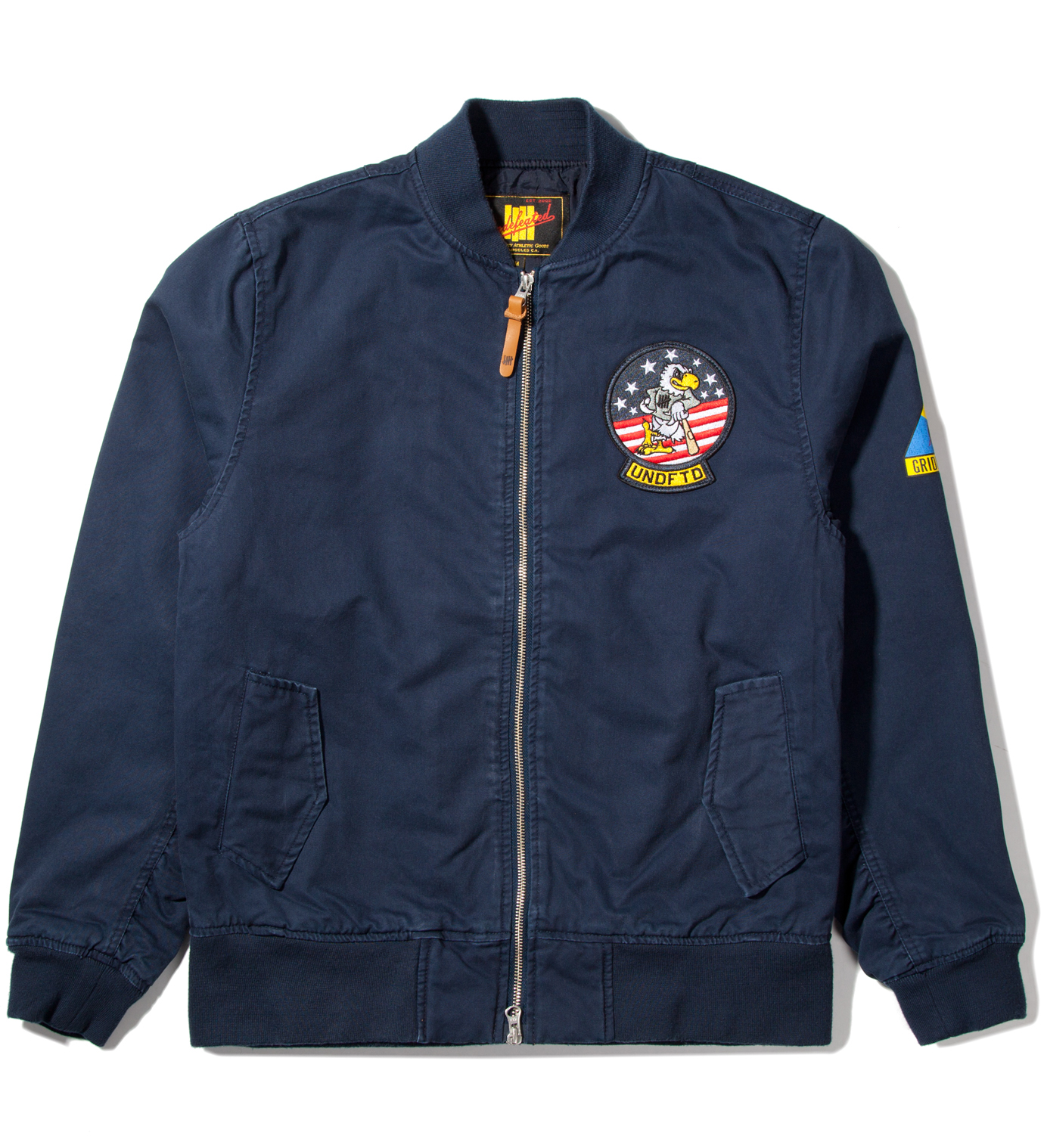 UNDEFEATED Navy Tomcat Zip Jacket
