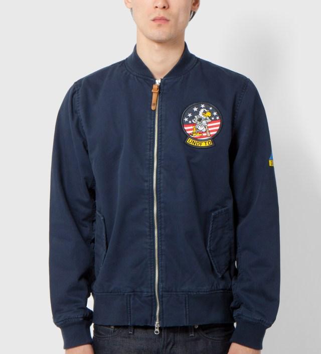 Undefeated Navy Tomcat Zip Jacket