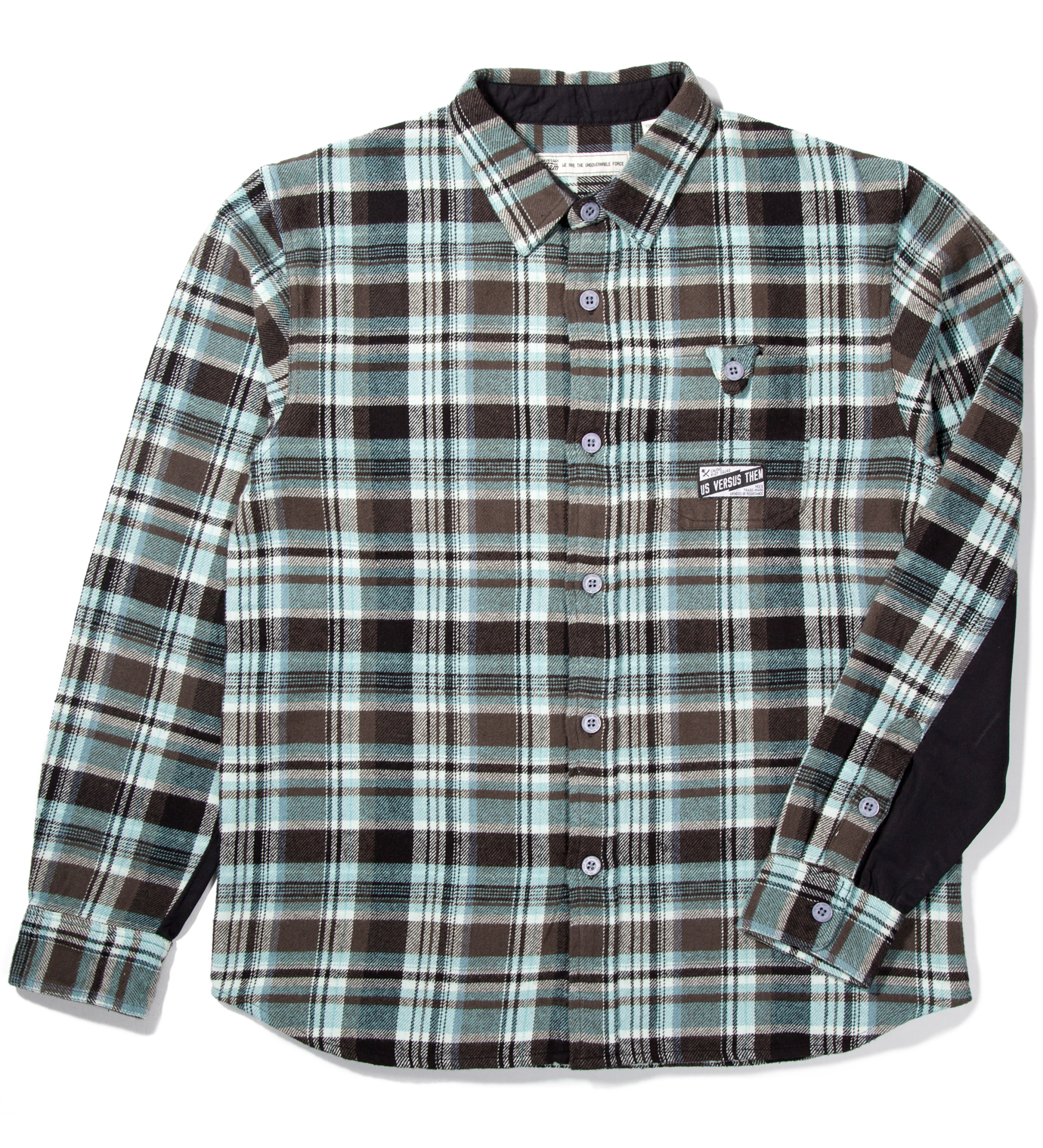 Us Versus Them Blue Beaumont Longsleeve Shirt