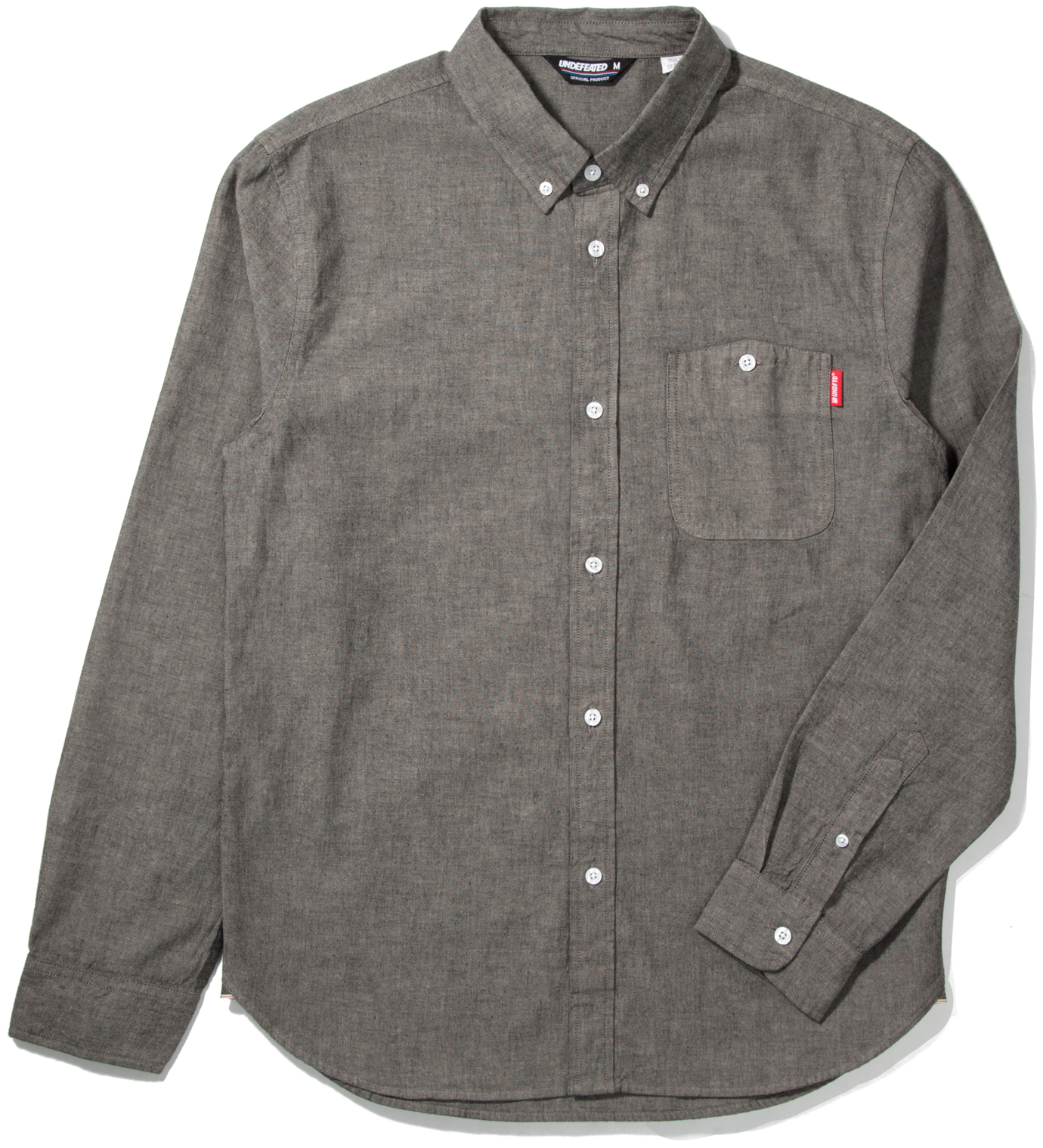 UNDEFEATED Grey RPG Chambray Shirt