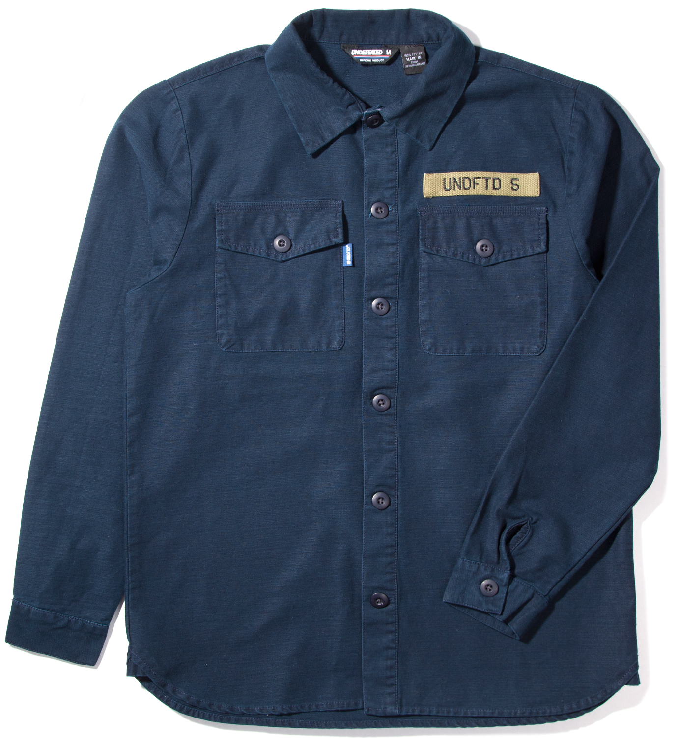 Undefeated Navy Fortune BDU Shirt