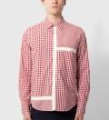 CASH CA Red Gingham Mondrain Shirt