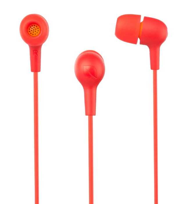 Incase Hot Red/Mango Lime Capsule Natural Fit Earbuds