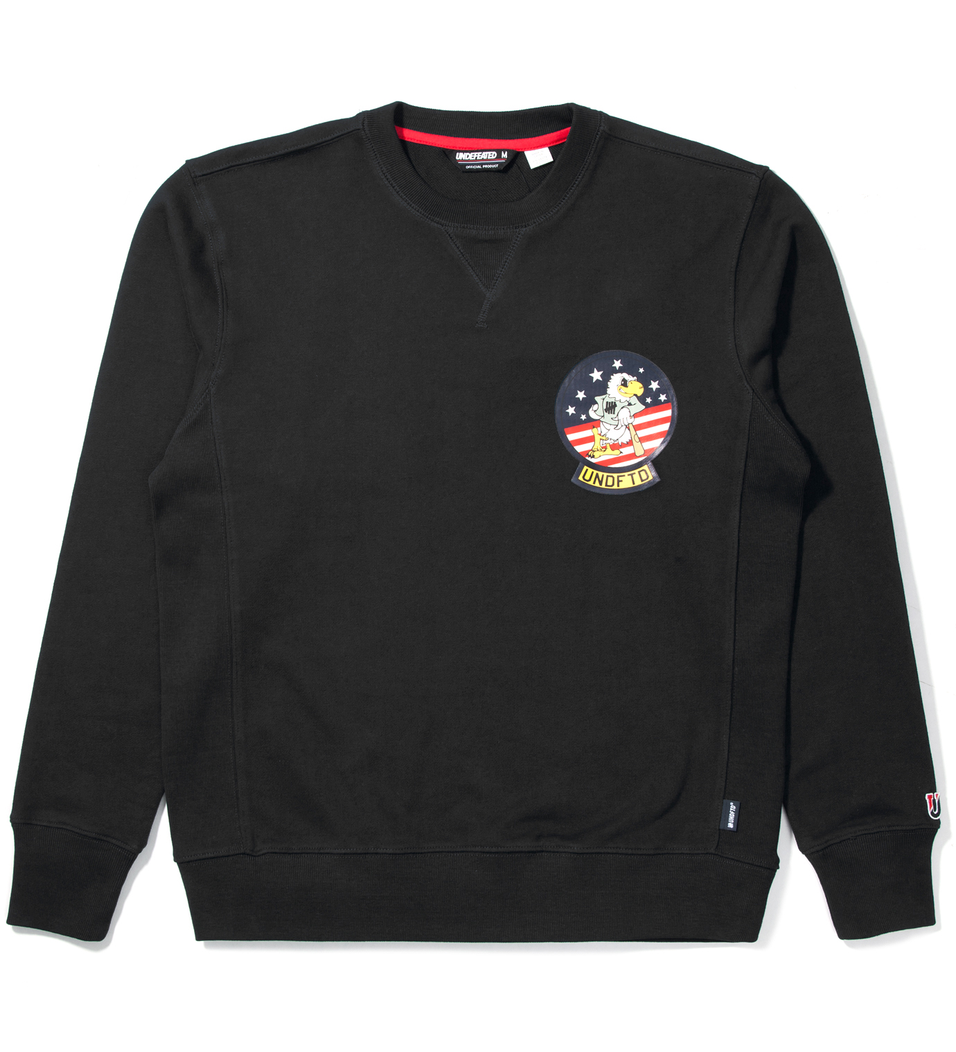UNDEFEATED Black Eagle Crewneck