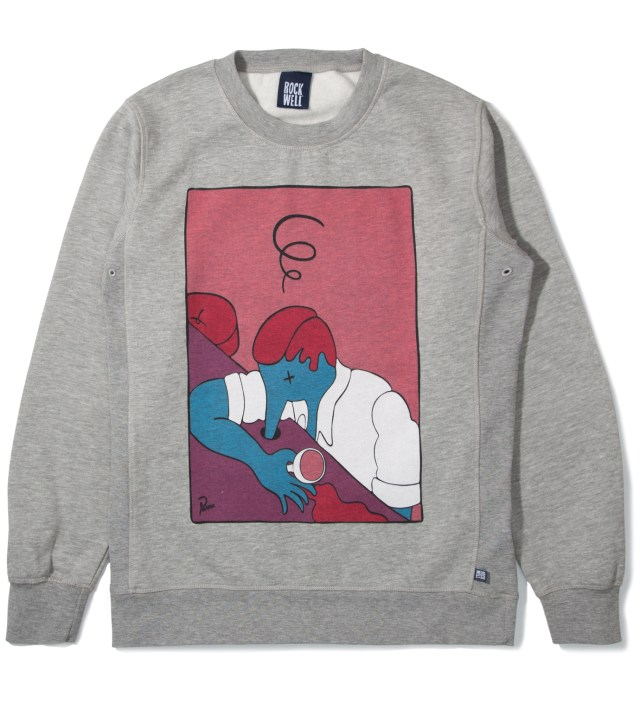Parra Heather Grey The Lux Crewneck