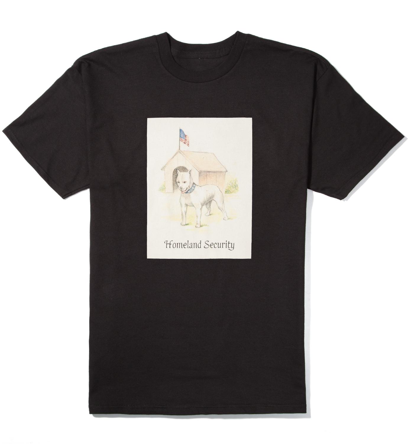 FUCT Black Homeland Security T-Shirt