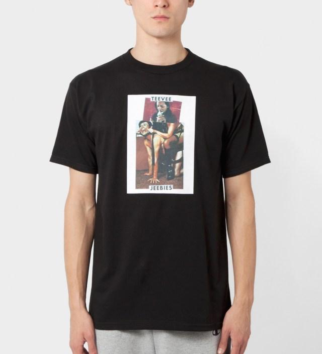FUCT Black Teevee Jeebies T-Shirt