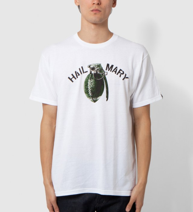 UNDEFEATED White Hail Mary T-Shirt