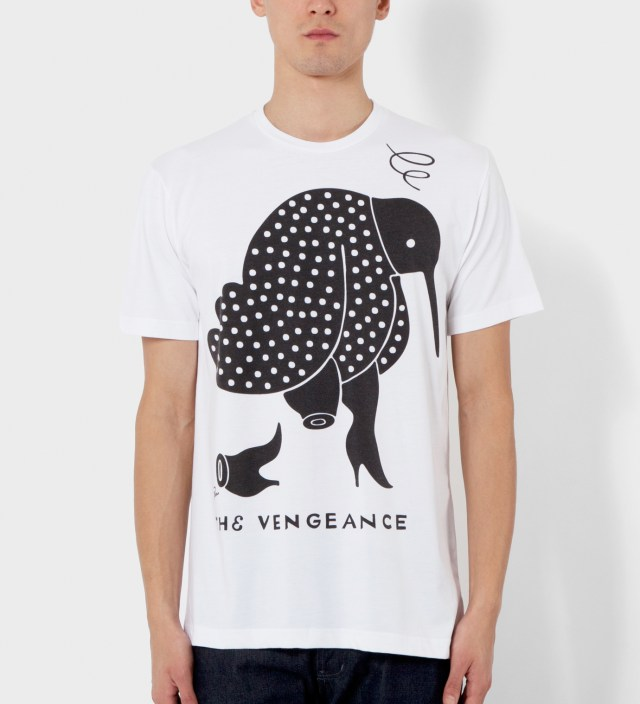 Parra White The Vengeance T-Shirt