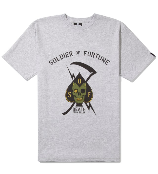 UNDEFEATED Heather Grey Death From Below T-Shirt