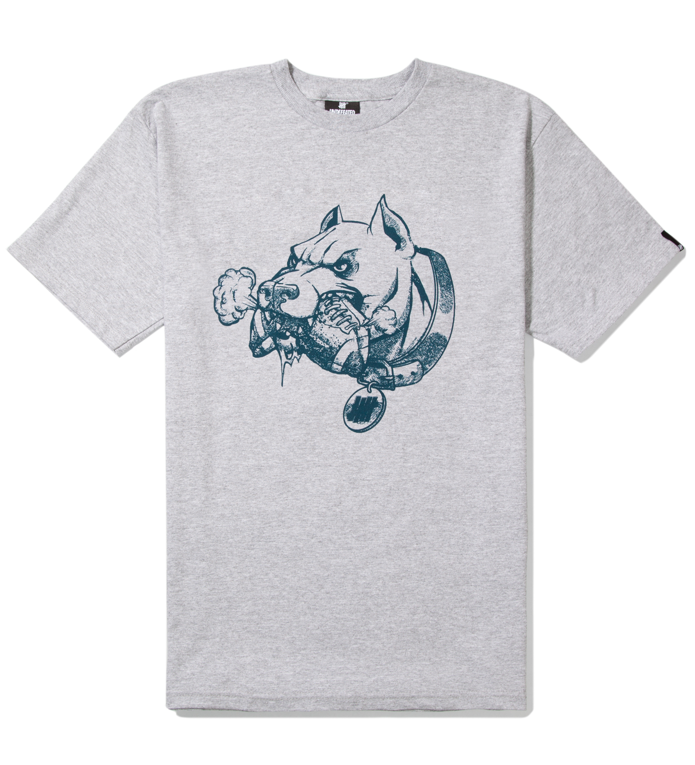 Undefeated Heather Grey PIT T-Shirt