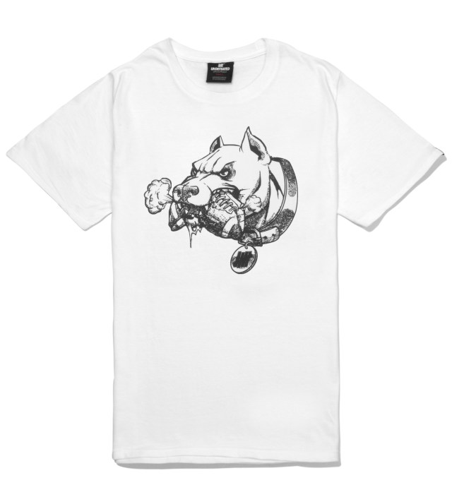 UNDEFEATED White PIT T-Shirt