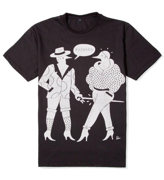 Parra Black Fashion T-Shirt