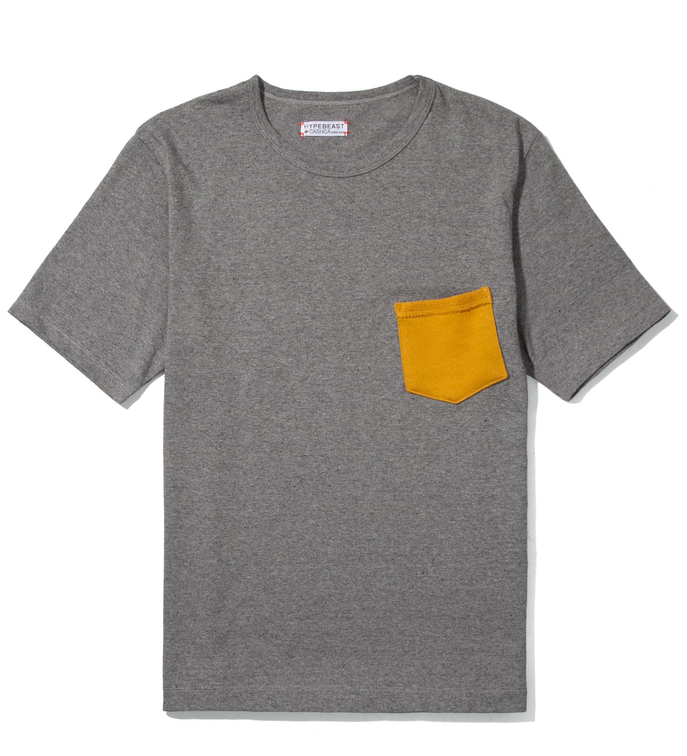 CASH CA Cash Ca for Hypebeast Charcoal Pocket T-Shirt