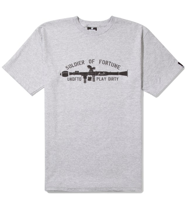 UNDEFEATED Heather Grey SOF Gun T-Shirt