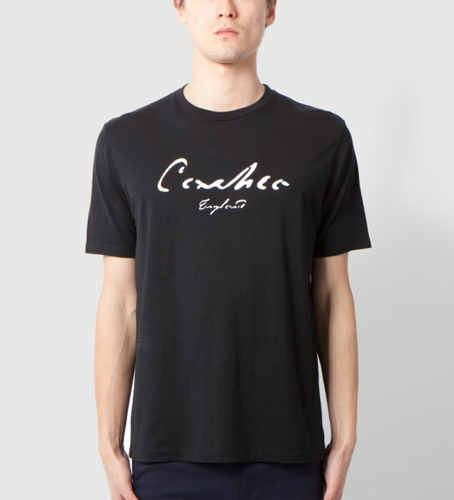 CASH CA Black Print Logo T-Shirt