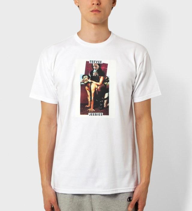 FUCT White Teevee Jeebies T-Shirt