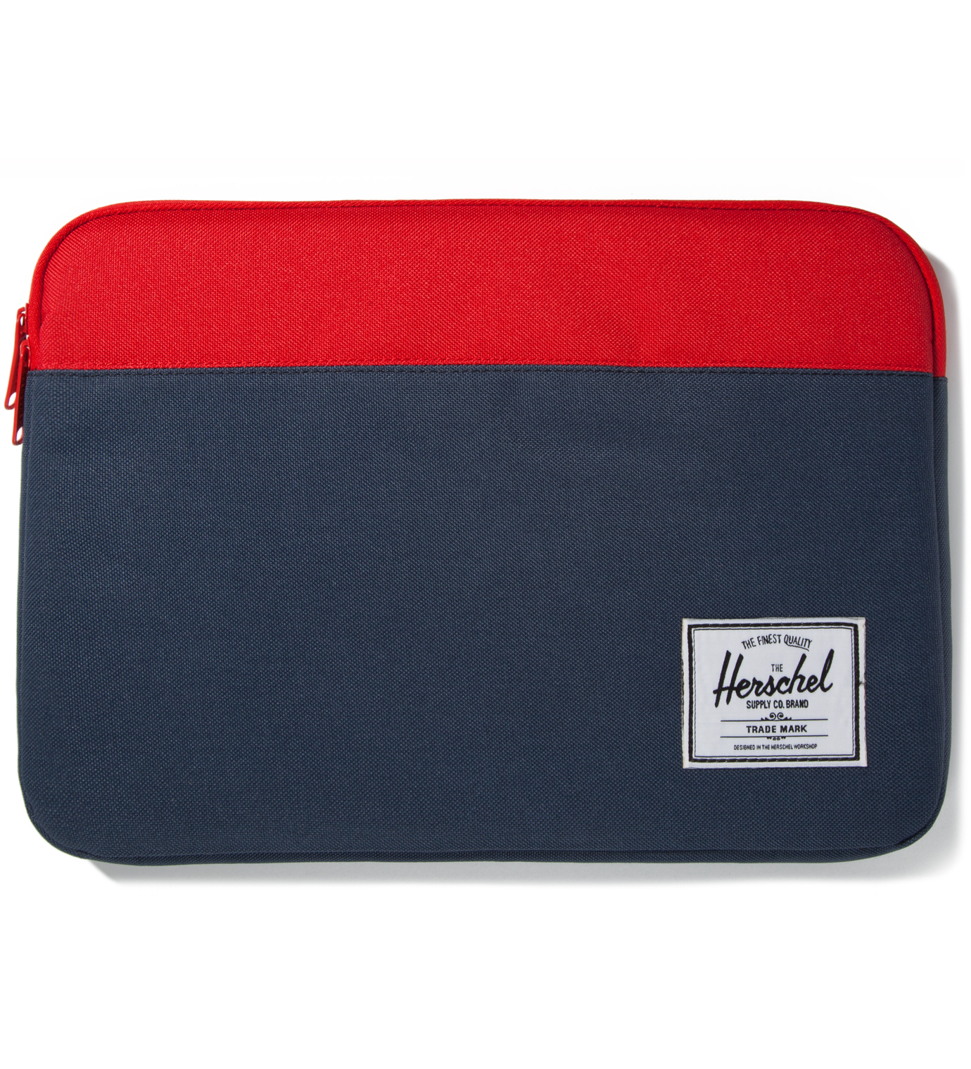 "Herschel Supply Co. Red/Navy Anchor Sleeve for 13"" Macbook Pro"