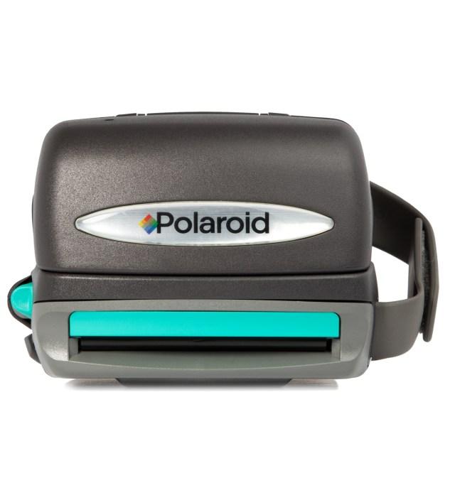 IMPOSSIBLE Black Refurbished Vintage Polaroid 600 Box Type Camera