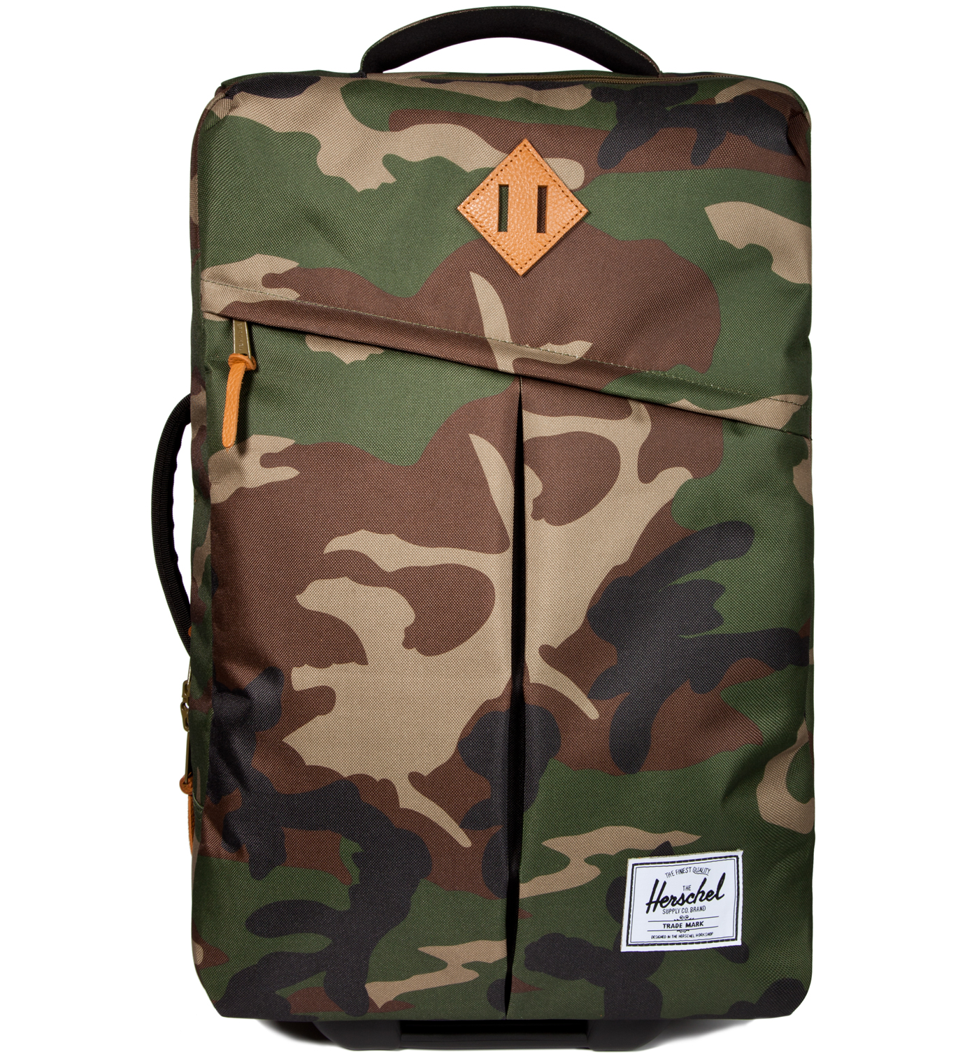 Herschel Supply Co. Woodland Camo Campaign Luggage