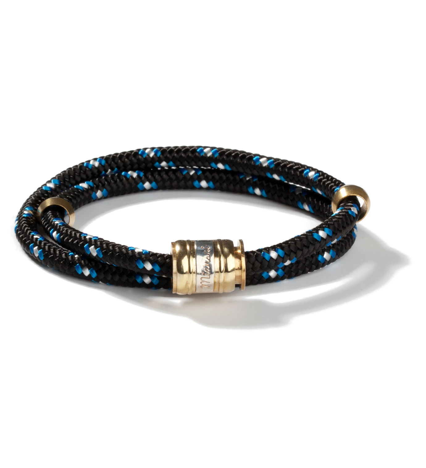 Miansai Black/Blue Casing Bracelet