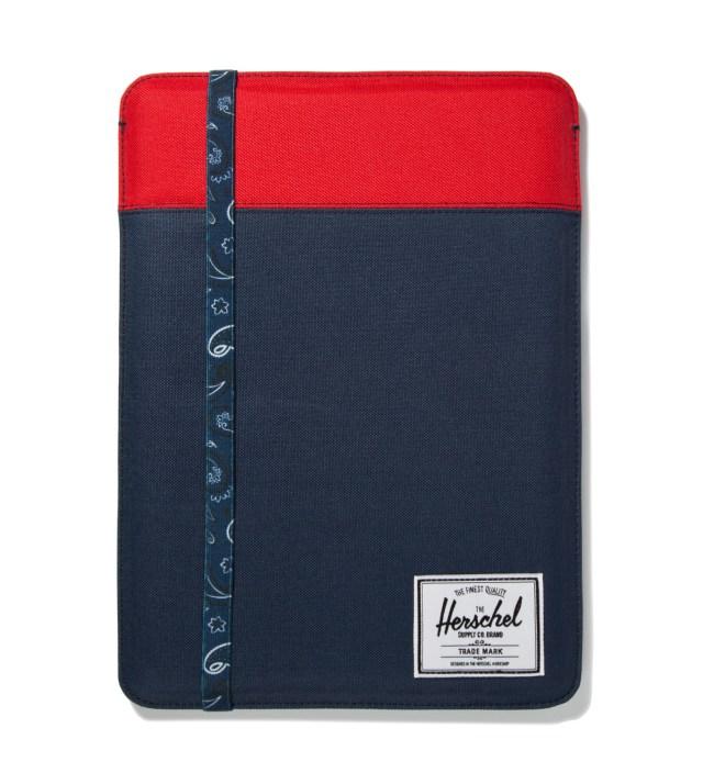 "Herschel Supply Co. Red/Navy Cypress Sleeve for 13"" Macbook Air"