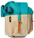 Herschel Supply Co. Khaki/Teal Eighteen Hipsack