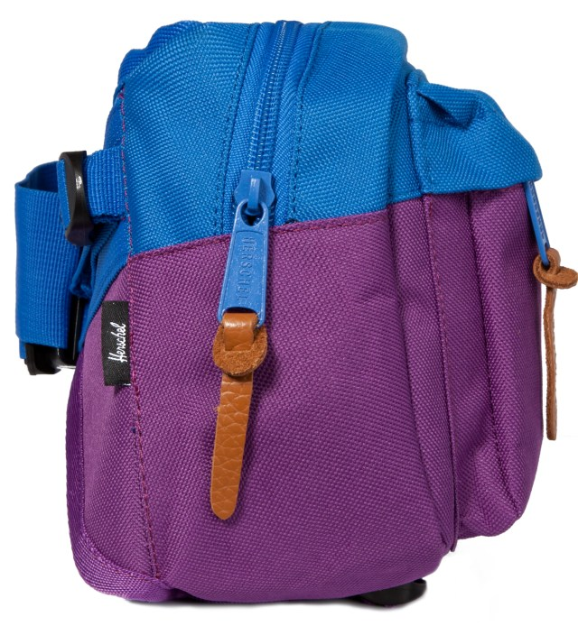 Herschel Supply Co. Purple/Cobalt Eighteen Hipsack