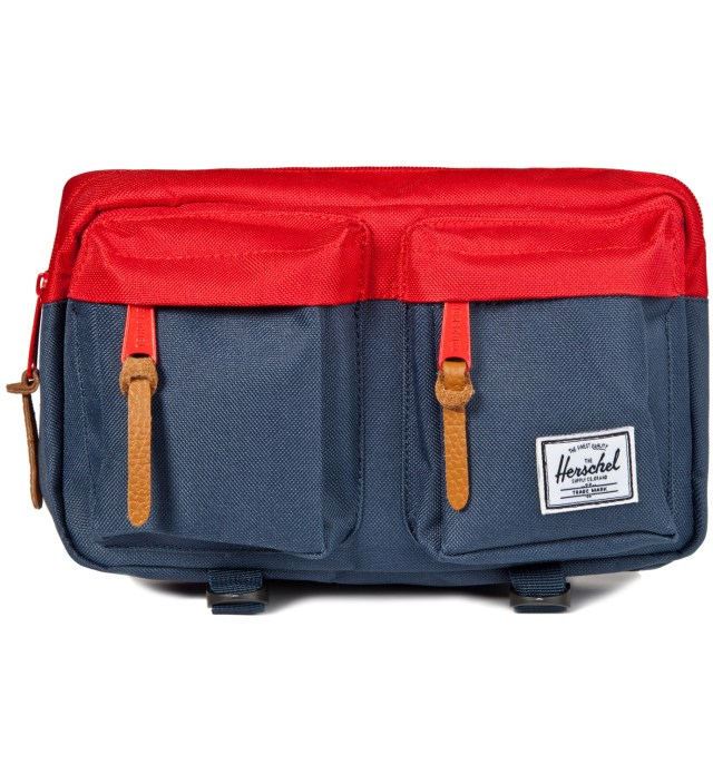 Herschel Supply Co. Red/Navy Eighteen Hipsack