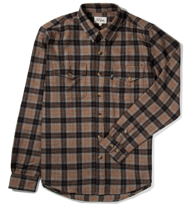 DQM Grey/Mustard Fishkill Plaid Wool Shirt