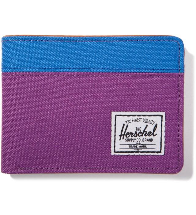 Herschel Supply Co. Purple/Cobalt Hank Wallet