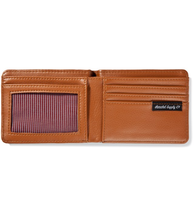 Herschel Supply Co. Khaki/Teal Hank Wallet