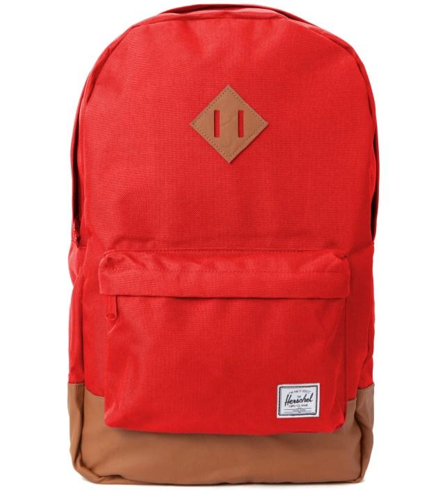 Herschel Supply Co. Red Heritage Backpack
