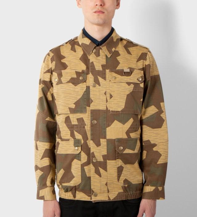 A.P.C. Camo Veste Soldier Jacket