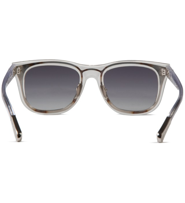 KRISVANASSCHE KRISVANASSCHE x Linda Farrow Clear With Metal Sunglass