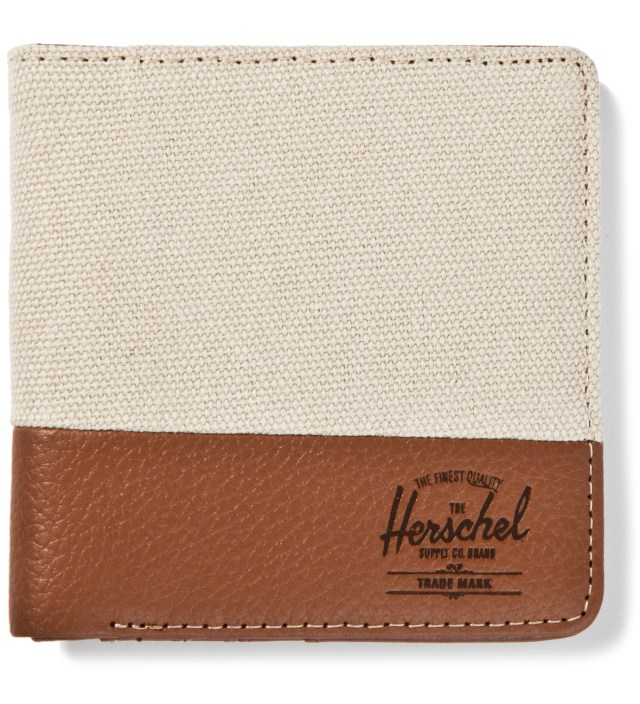 Herschel Supply Co. Natural/Tan Pebble Leather Kenny Wallet