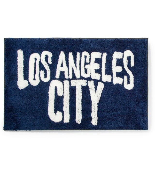 SECOND LAB Navy Los Angeles City Rug