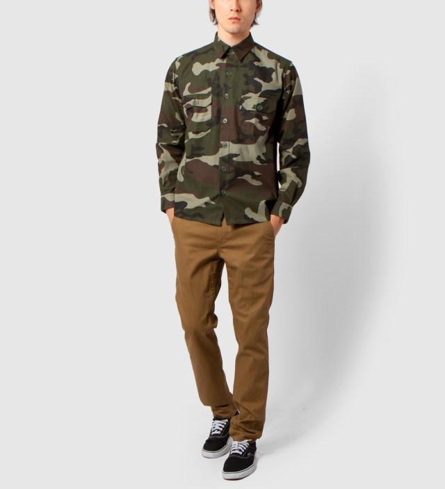 DQM Woodland Leeds Camouflage Shirt