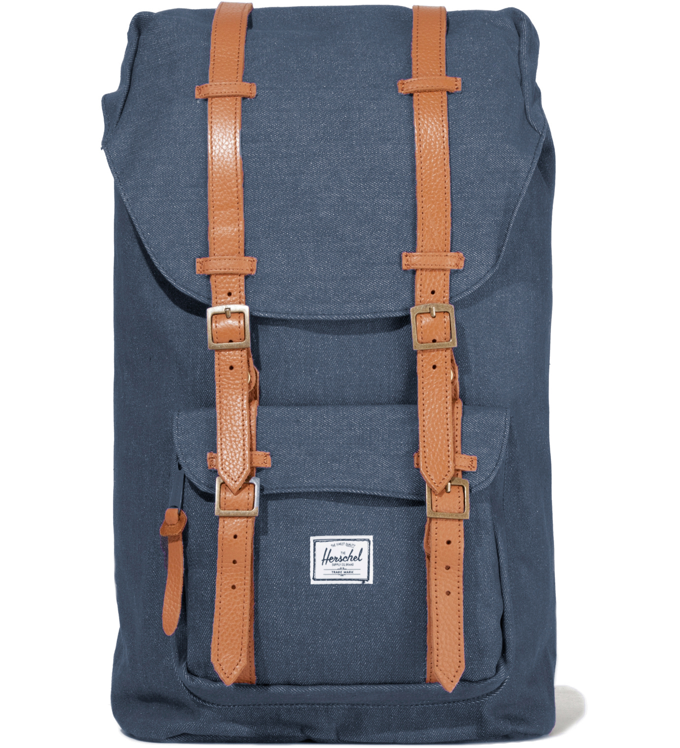 Herschel Supply Co. Washed Navy Little America Canvas Backpack