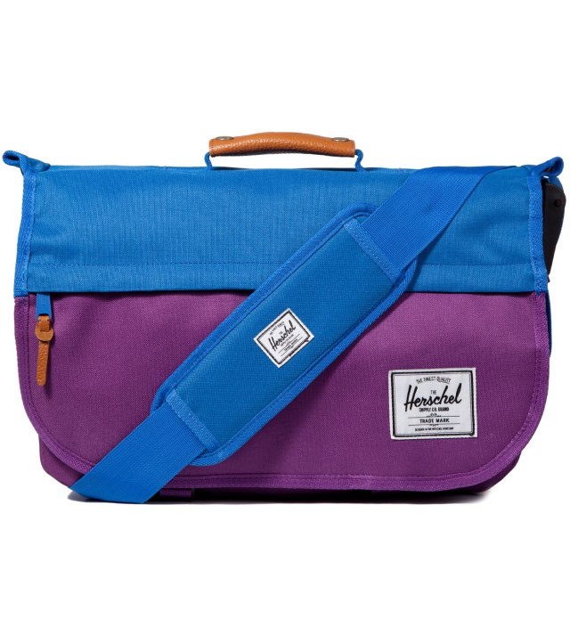 Herschel Supply Co. Purple/Cobalt Mill Messenger Bag