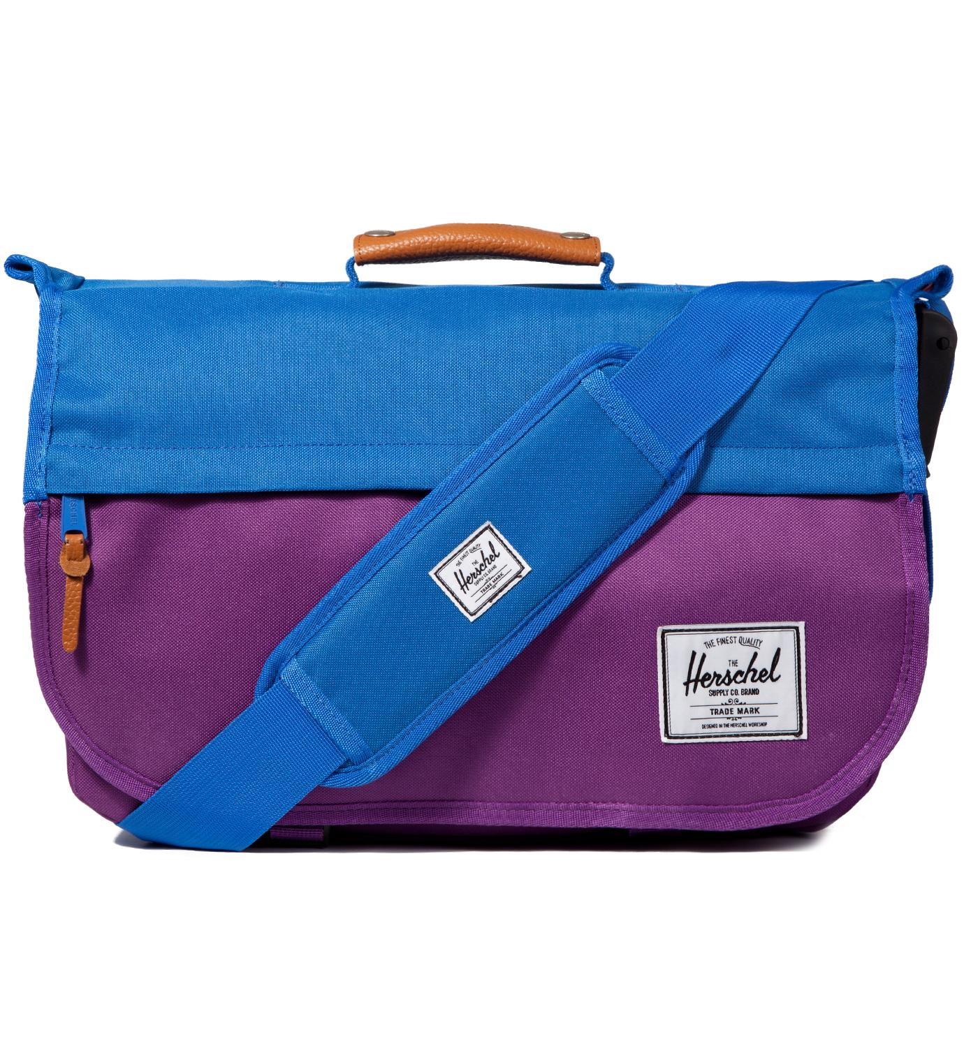 Herschel Supply Co. Purple/Cobalt Mill Messenger Bag