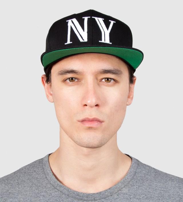 40oz NYC Black Balmain NY Snapback Cap