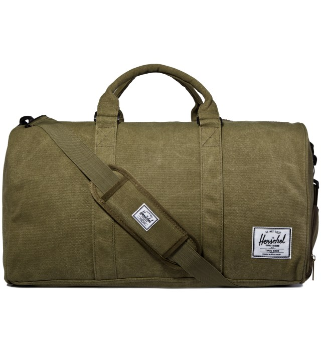 Herschel Supply Co. Washed Army Novel Canvas Bag