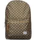 Herschel Supply Co. Olive Polka Dot Settlement Backpack